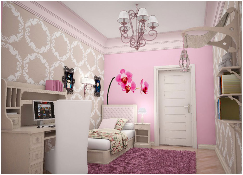 Wonderful Lovely Bedroom Decor Ideas For Teenager Girl
