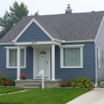 blue vinyl siding color combinations