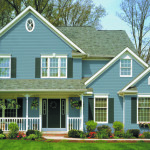 green vinyl siding color combinations