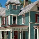 green vinyl siding colors