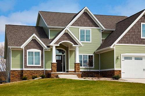 vinyl siding color ideas - Vinyl Siding Design Ideas
