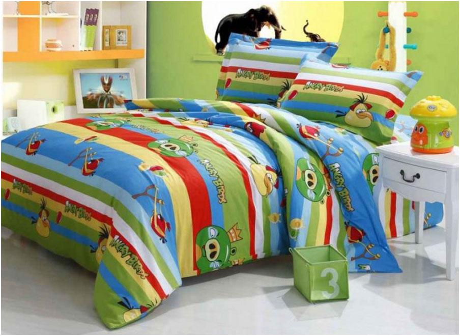 Angry Birds Comforter Ser For Kids