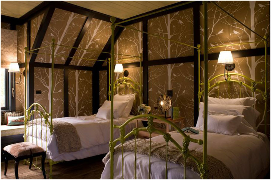Antique Twin Iron Beds Design