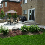 Backyard Patio Design in Small House