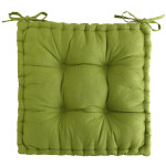 Boxed Green Dining Room Chairs Cushions Textured