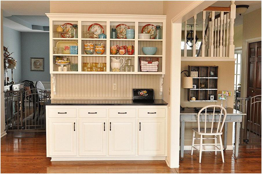 Built in kitchen hutches ideas interior design ideas for Built in kitchen designs