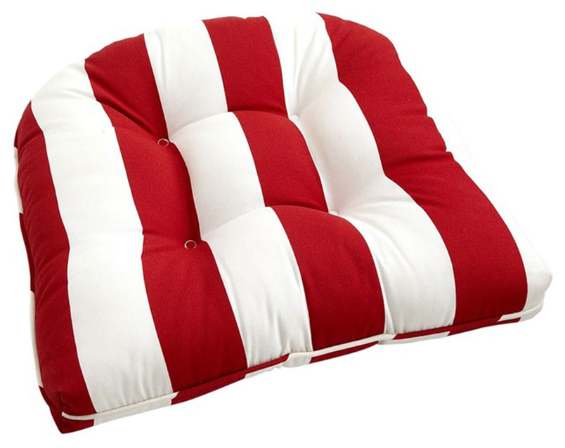 Cabana Stripe Dining Room Chairs Cushions
