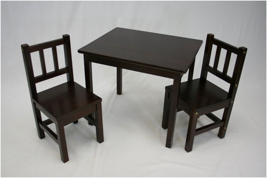Childrens Wooden Desk and Chair Set Ideas