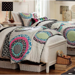 Colorful Floral Patchwork Girls Twin Bedding Sets