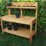 DIY Garden potting work Bench ideas