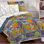 Dinosaur Comforter Sets motif for Kids