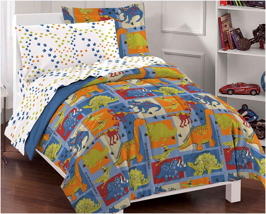 Dinosaur Comforter Sets motif for Kids