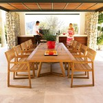 Discount Teak Outdoor Furniture Manufacturers