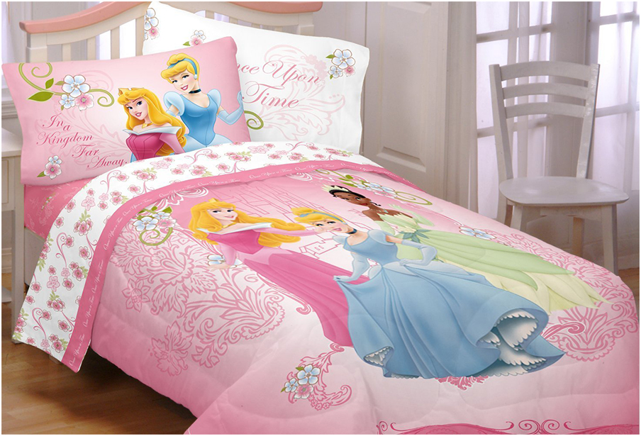 Disney Princesses Your Royal Grace Girls Twin Bedding Sets