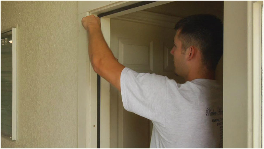 Door Weather Stripping Installation