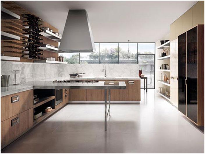 Elegant Modern Italian Kitchen Design Ideas