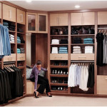 Exciting Organized Walk-in Wardrobes Closet Design Ideas