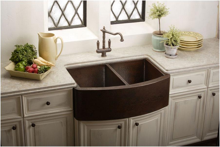 Farmhouse Kitchen Vintage Sink Designs Option