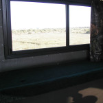 Fiberglass Deer Blind Windows
