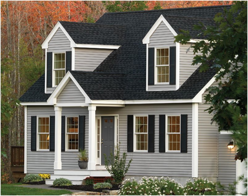Georgia Pacific Forest Ridge Vinyl Siding Design