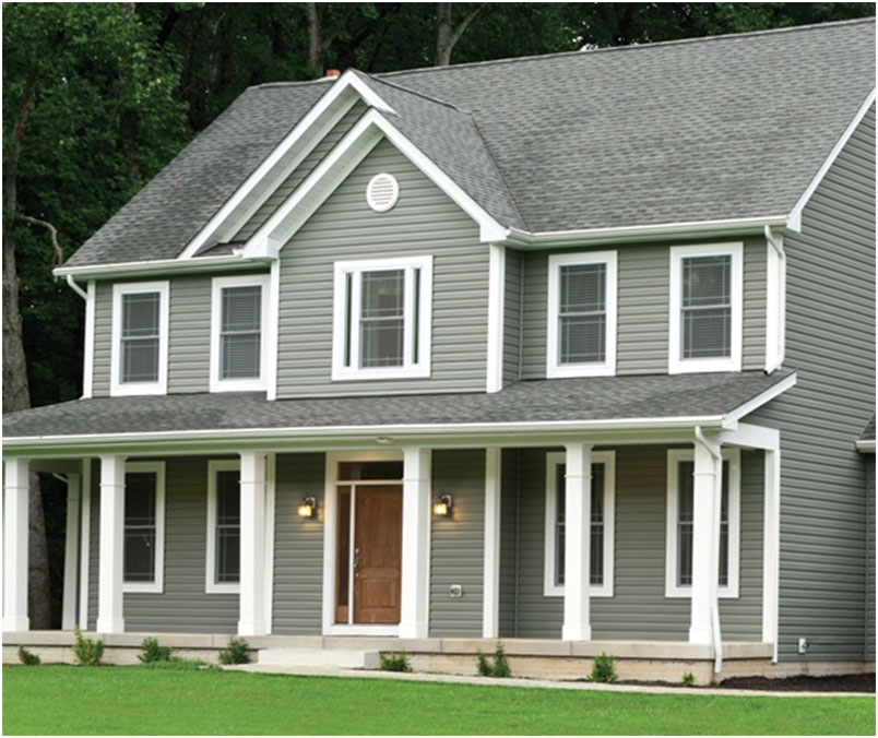 Georgia Pacific Shadow Ridge Double Dutch Lap Vinyl Siding Design ...