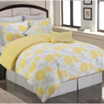 Girls Twin Bedding Sets with Yellow Sunflower Motif