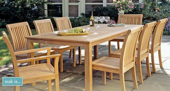 Grades of Outdoor Teak Furniture