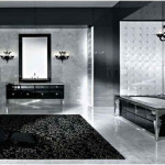 Luxury Concept Black And White Bathrooms Design