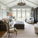 Modern Farmhouse Family Room Design