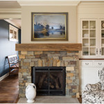 Modern Farmhouse Hearth Room