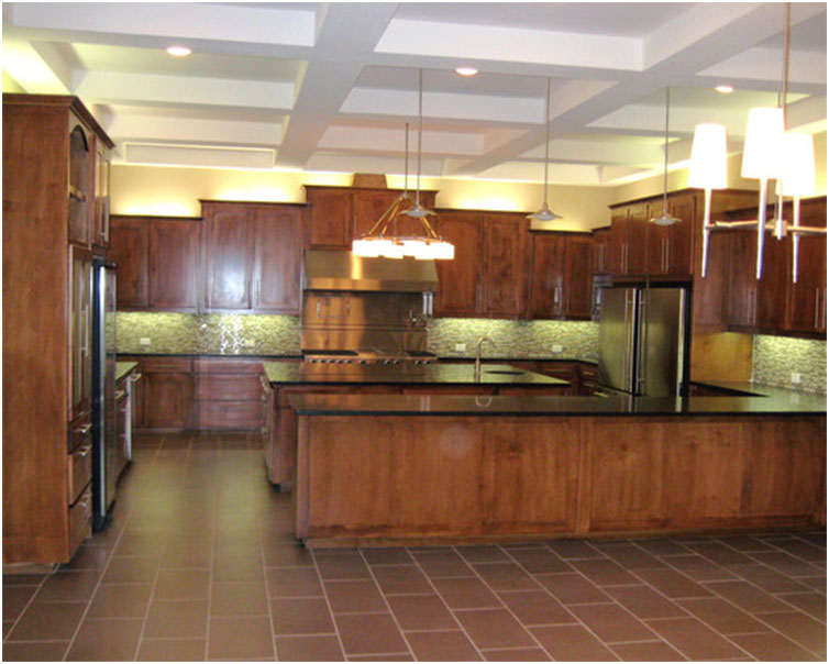 Modern Farmhouse Kitchen Lighting Design