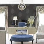 Modern Glamour Home Office Interior Design