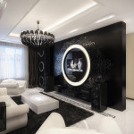 Modern Glamour Interior Design Living Room