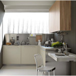 Modern Italian Kitchen Design in Small Space