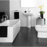 Modern Minimalist Black And White Bathrooms Design