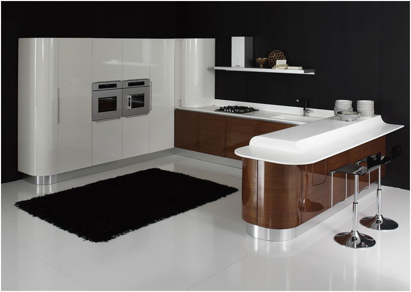 Modern Minimalist Italian Kitchen Design Ideas