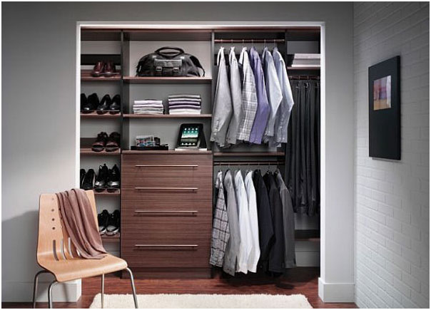 Modern Small Exciting Walk-In Wardrobes Closet Design Ideas
