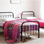Modern Twin Iron Bed Frame Design Ideas