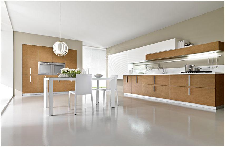 Modern Wooden Italian Kitchen Decorations ideas
