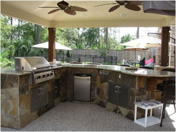 Outdoor Kitchen Patio Design Ideas