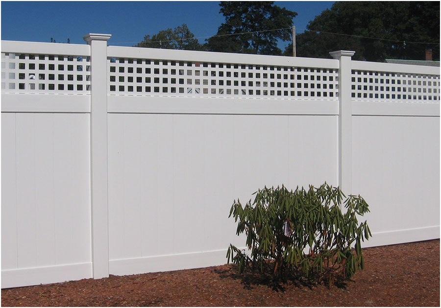 PVC with Square Lattice Split Rail