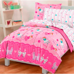 Pink Girls Twin Bedding Sets