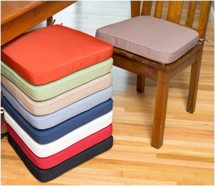 Polyester Dining Room Chairs Cushions