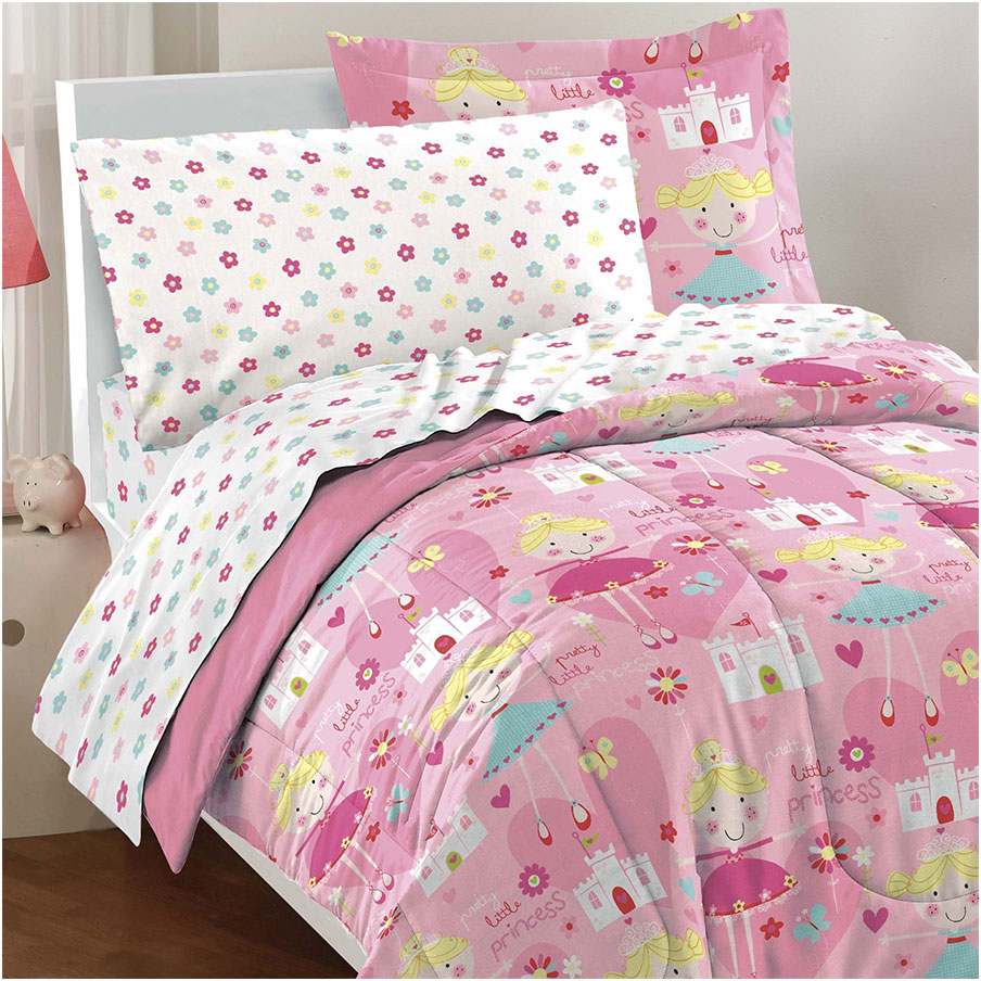 Pretty Princess Comforter Sets for Kids