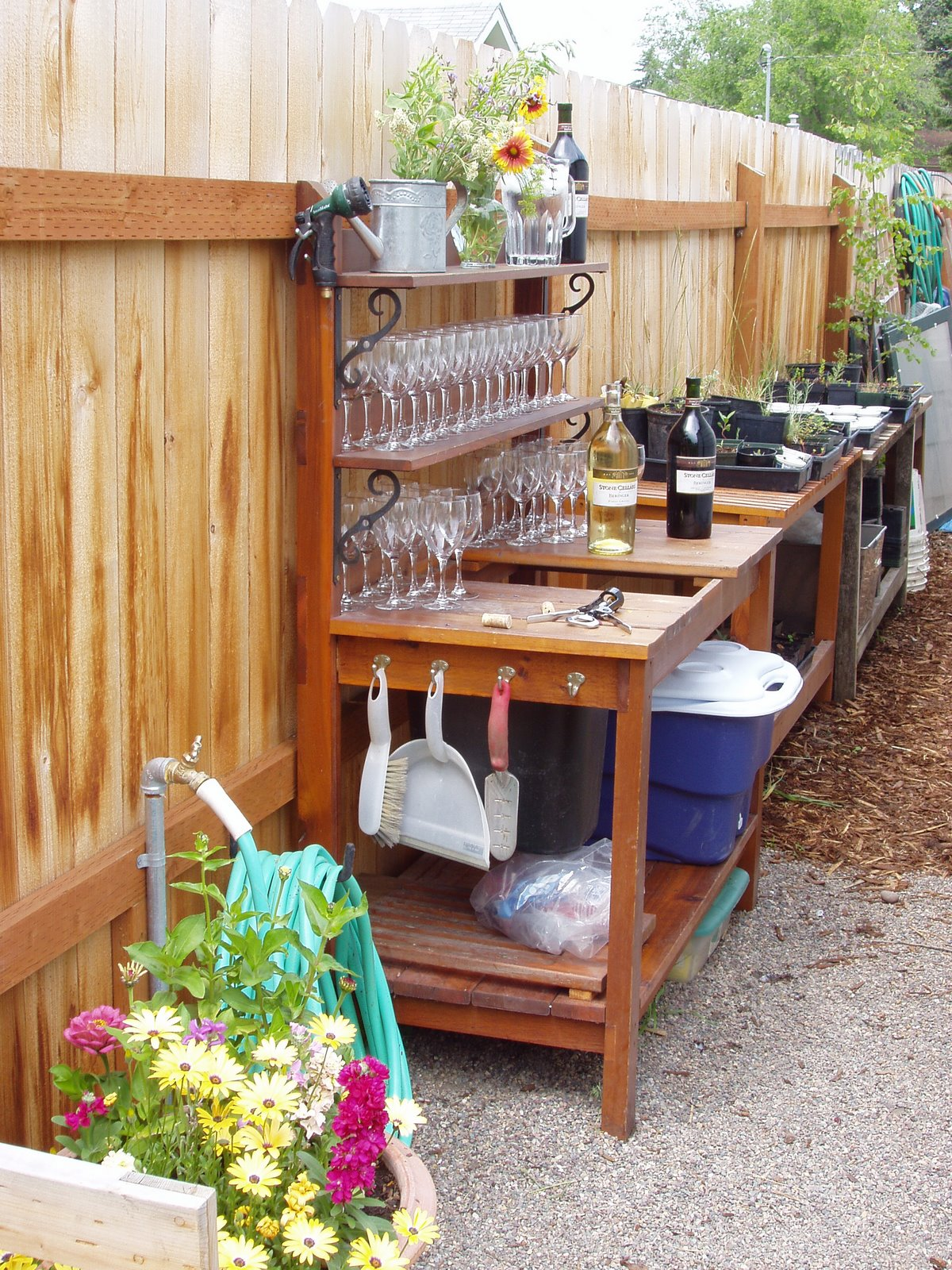 Simpel Diy Garden Work Bench
