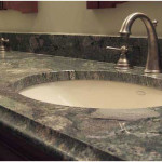Stone Bathroom Countertop Idea