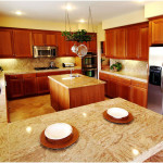 Stone Tile Countertop Ideas
