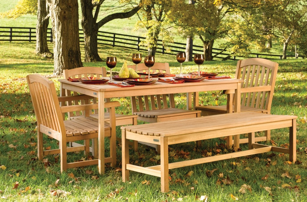 Teak Furnishings For Outdoor