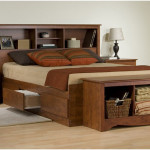 Twin XL Platform Storage Bed