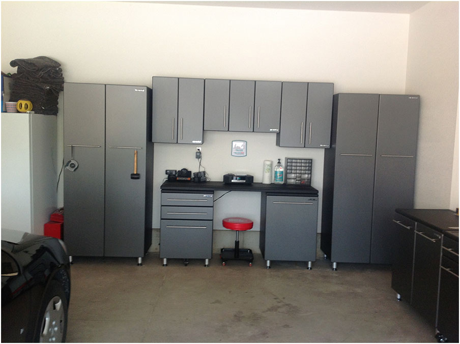Ultimate Metal Garage Storage Cabinet System